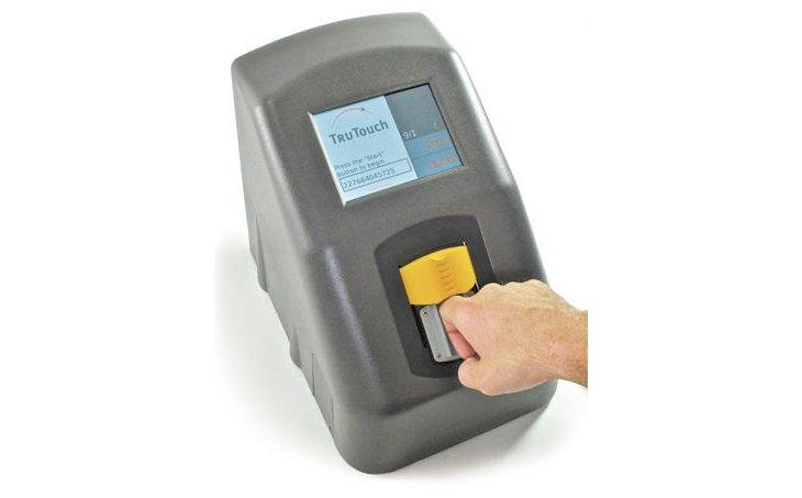 TruTouch fingerprint scanner