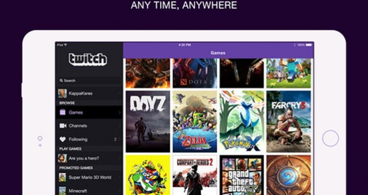 Twitch app update adds Chromecast support