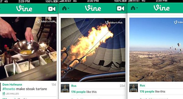 Twitter's Vine app for iPhone trials verified accounts