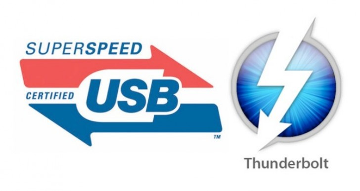 USB 3.1 vs. Thunderbolt 2 speed expectations