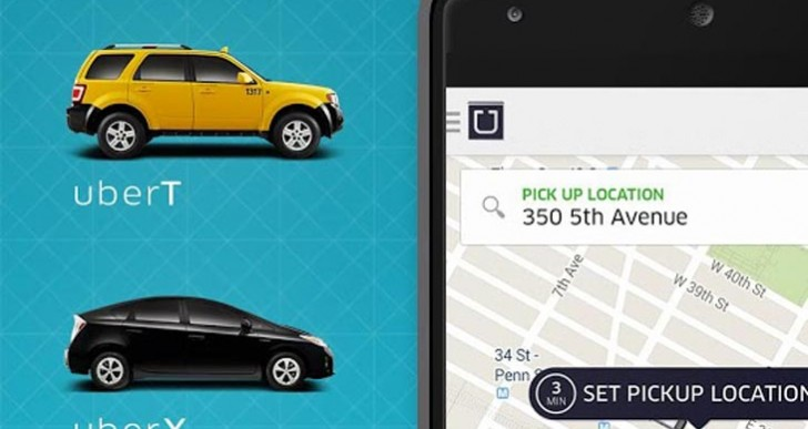 Uber taxi app issue finding Android location