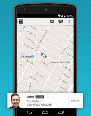 Uber-taxi-app-features