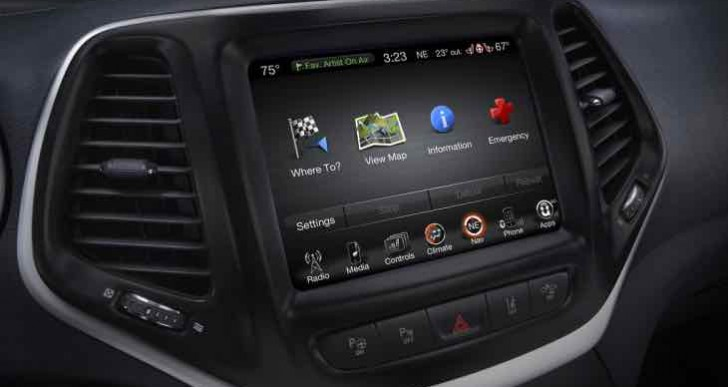 New FCA software update, vehicles affected in Uconnect System recall