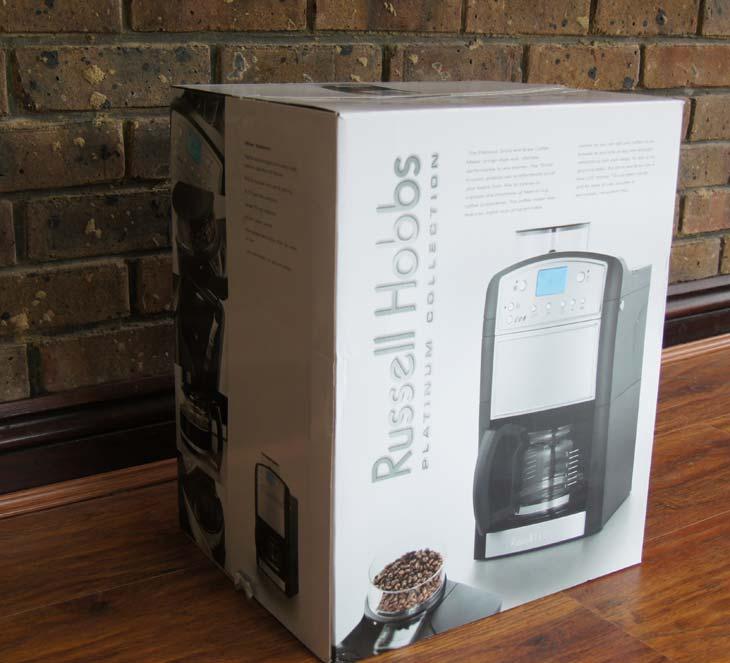 Unboxing-Russell-Hobbs-14899-Coffeemaker