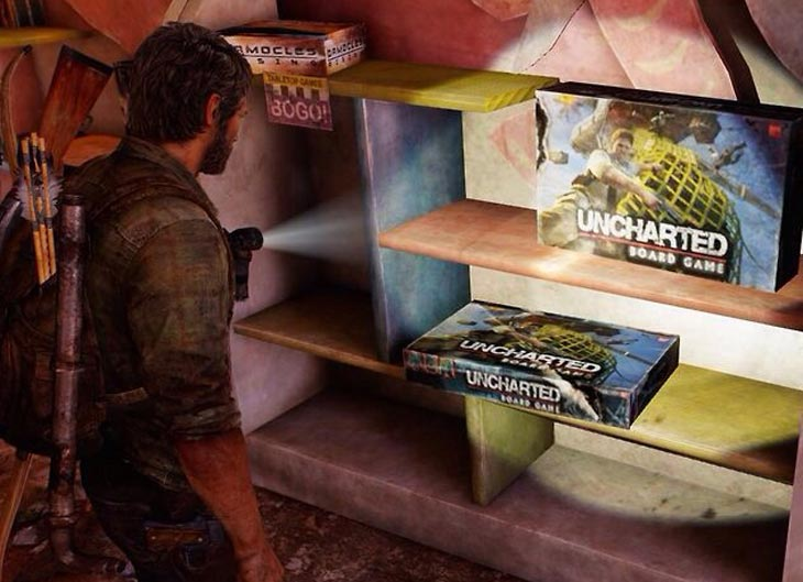Google Easter Eggs List >> Uncharted board game easter egg in The Last of Us – Product Reviews Net