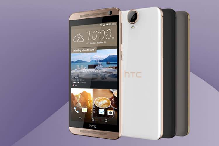 Uninspired HTC One E9+ design