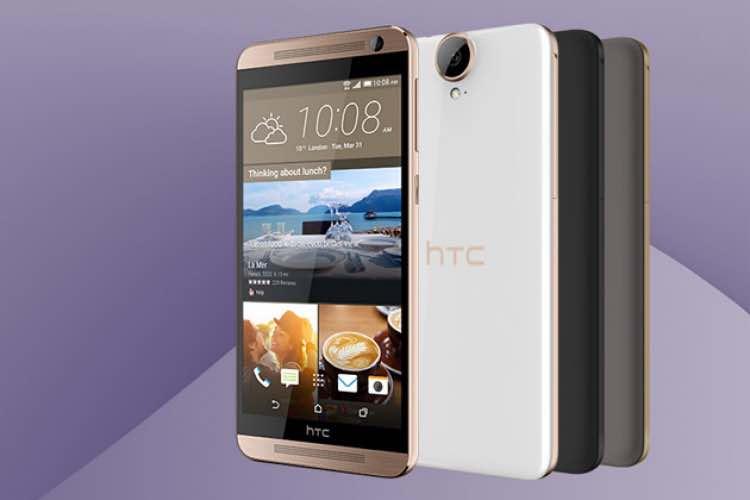 Uninspired HTC One E9+ design