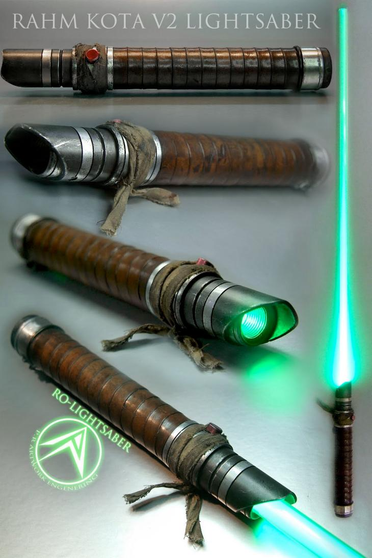 Unique lightsaber celebrates Star Wars