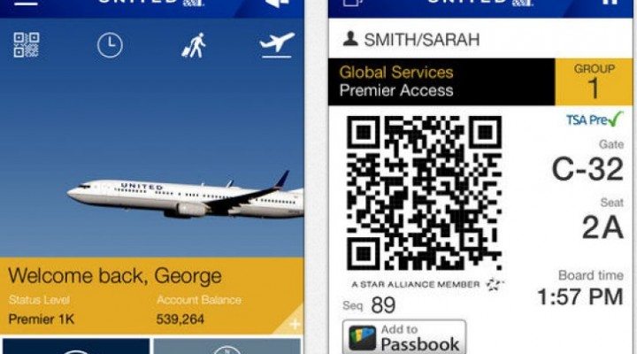 United Airlines iOS app update, not just for 7.1.1