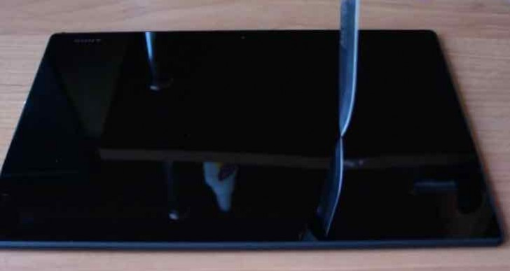 Unorthodox Sony Xperia Z4 Tablet review tests survivability