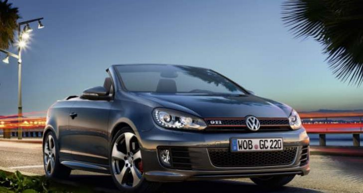 Updated Volkswagen Golf GTI Cabriolet not for US release