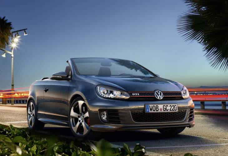Updated Volkswagen Golf GTI Cabriolet