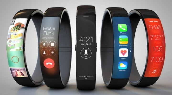 Updated iWatch concept with iOS 7 UI