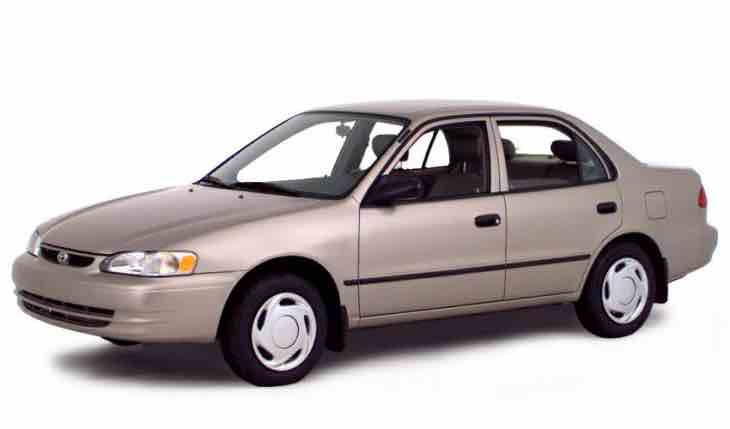 Used Toyota Corolla under $5,000