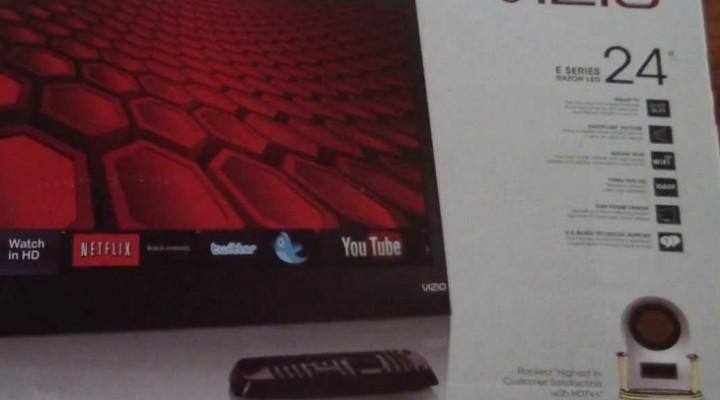 VIZIO E241I-A1 24-inch Razor LED TV up close in review