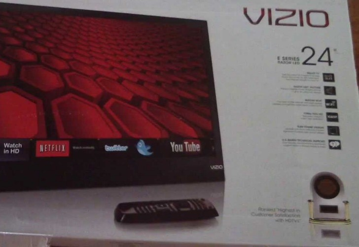 VIZIO E241I-A1 24-inch Razor LED TV up close in review