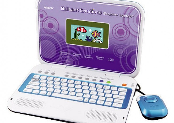 VTech Brilliant Creations Beginners Laptop with 80 learning activities