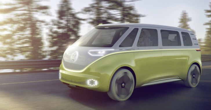 New VW bus in 2017 concept called I.D Buzz