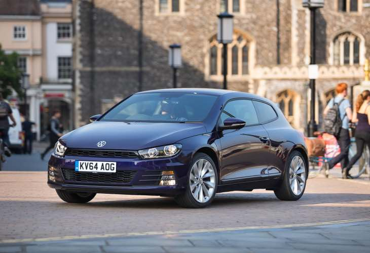 VW UK August incentives for Scirocco