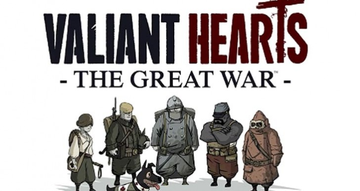 Valiant Hearts: The Great War review scores