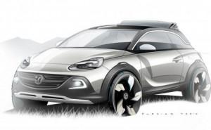 Vauxhall Adam Rocks CUV, MINI rival with Fiat 500C inspiration