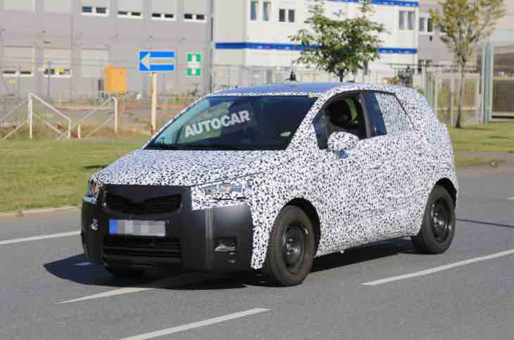 Vauxhall Meriva replacement images reveal conventional doors