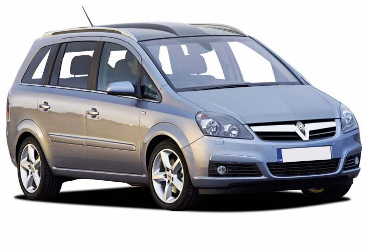 Vauxhall Zafira B recall
