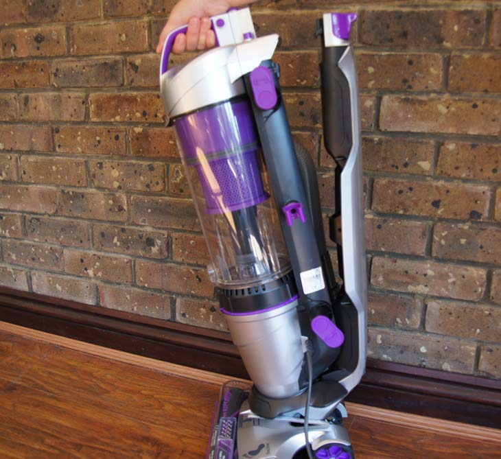 Vax-Air-Lift-Pet-Max-Vacuum-review-seperation