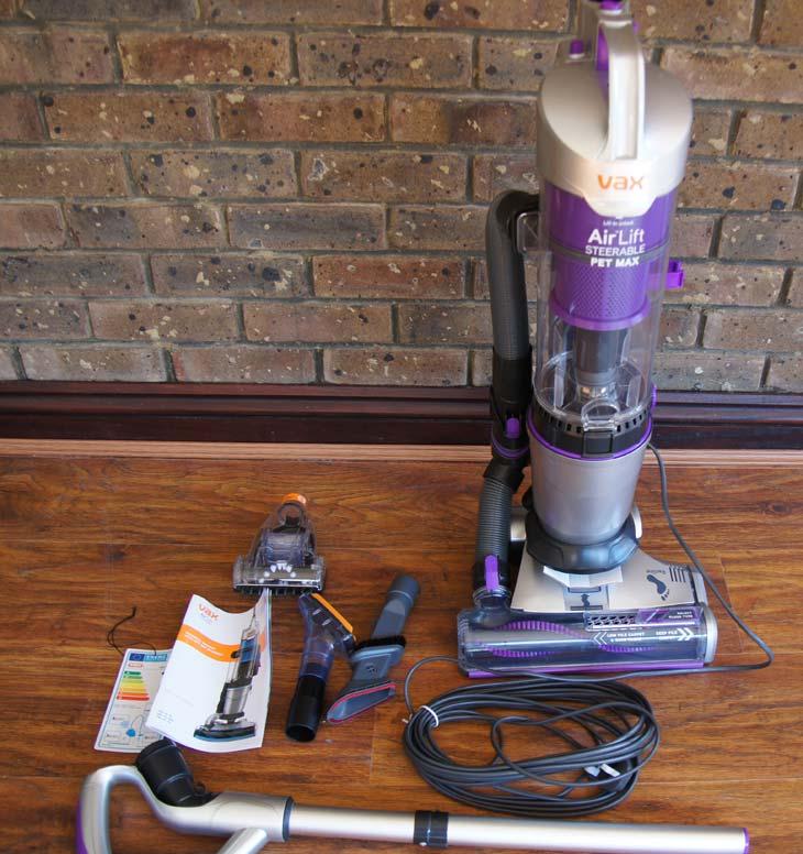 Vax-Air-Lift-Pet-Max-Vacuum-unboxing-2