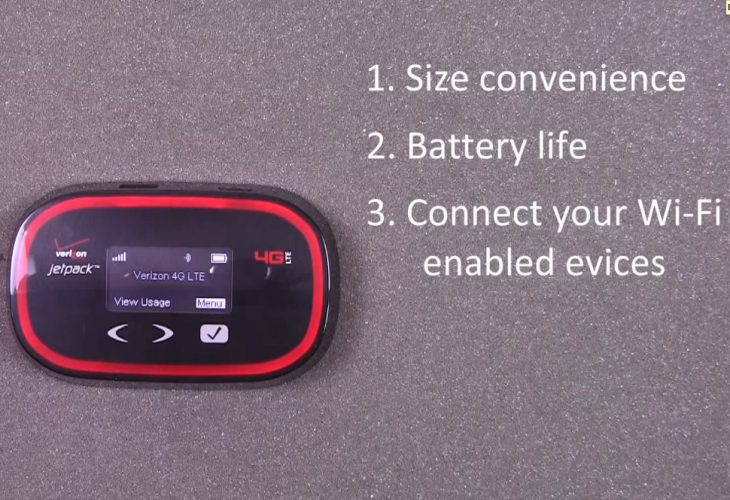 Verizon Jetpack 4G LTE MiFi with plans in review
