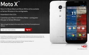 Verizon Moto X release date one step closer