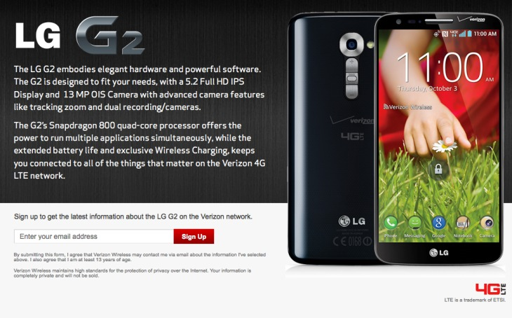 Verizon Nexus 5 with Wireless Charging expected