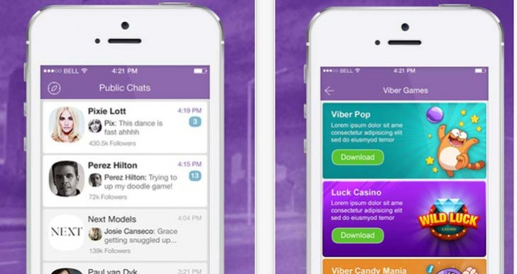 Viber Dec app update to target iPhone 6, Plus