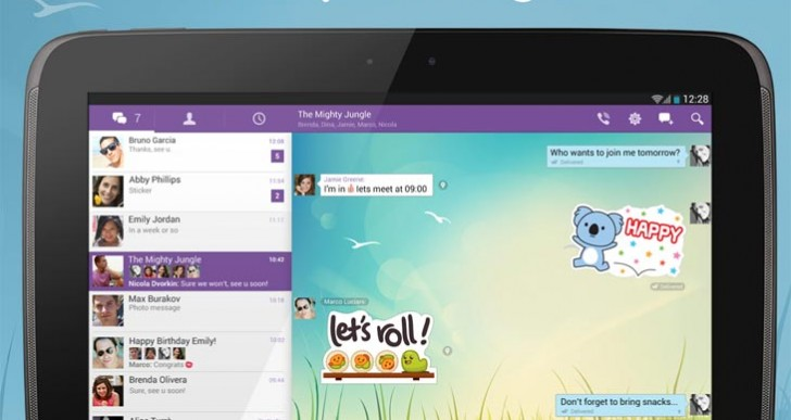 Viber app sold, update for Android not iOS 7