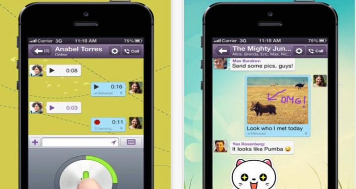 Viber app update skips iPad, iOS 7 features