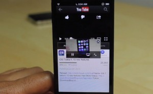 VideoPane app features on iPhone 5