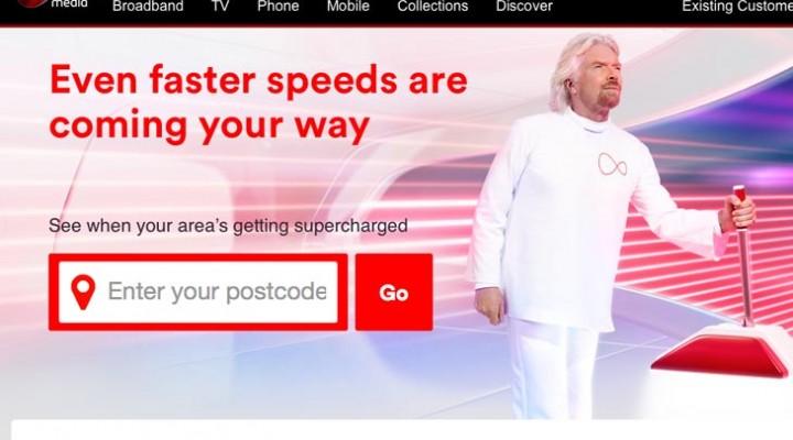 Virgin Media expansion of Supercharge broadband