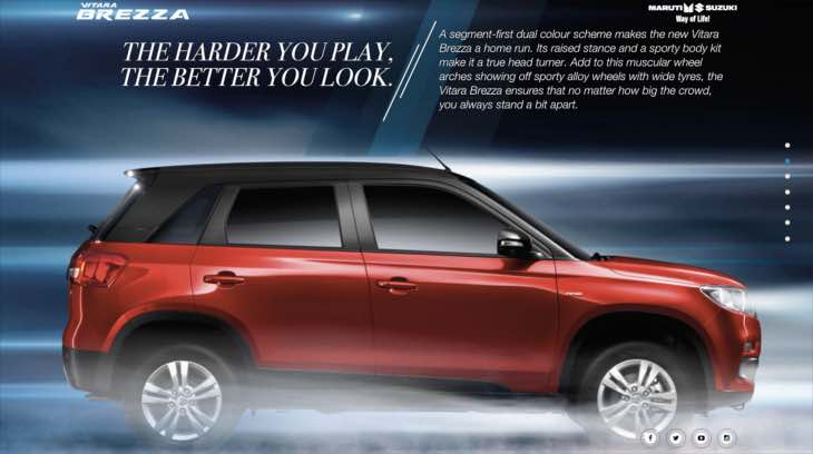 Vitara Brezza bookings