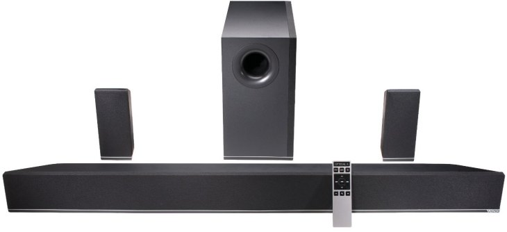 Vizio S4251w-B4  sound bar adds theater quality 5.1 surround sound to your room