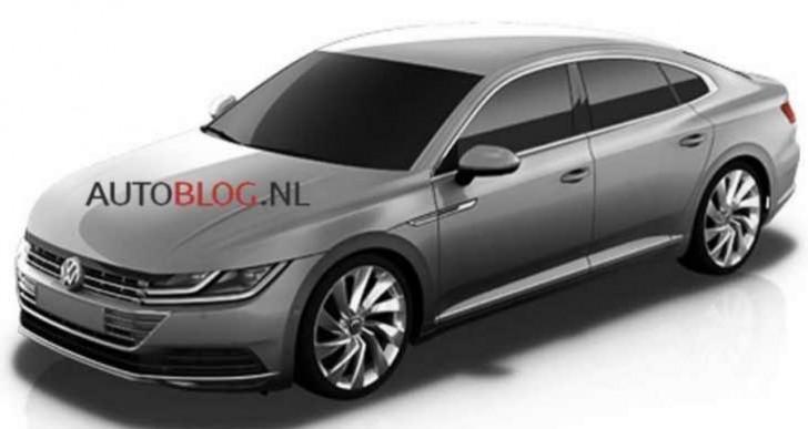 Volkswagen CC successor hits milestone ahead of 2017 release