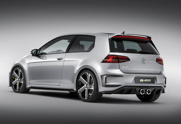 Volkswagen Golf R400 production