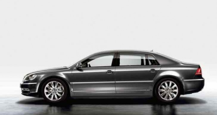 Volkswagen Phaeton UK replacement with cleaner engines