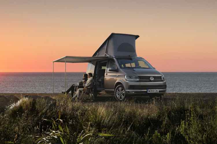 Volkswagen Transporter T6 California price, UK orders