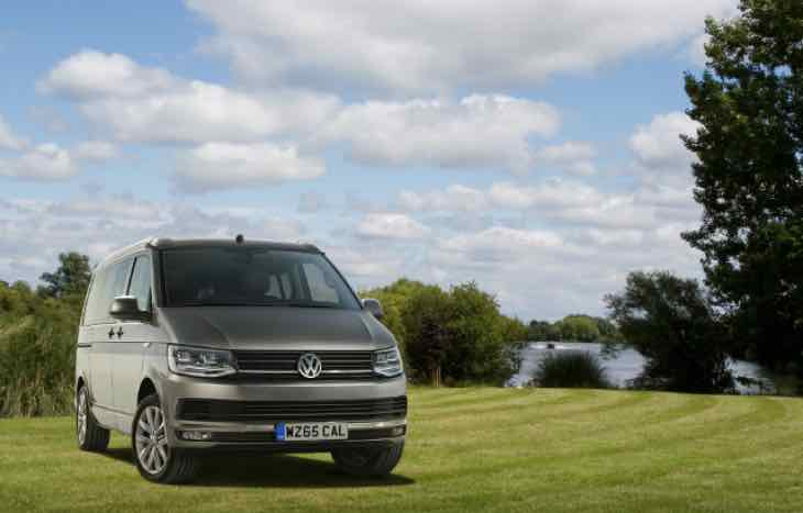 Volkswagen Transporter T6 California price