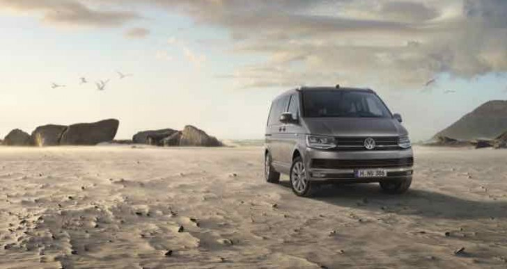 Volkswagen T6 Transporter gets California treatment
