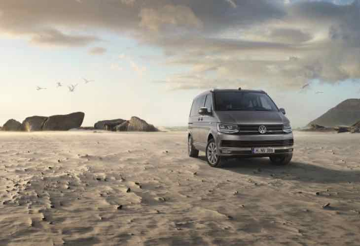 Volkswagen Transporter T6 gets California treatment