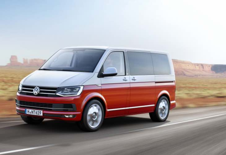 Volkswagen Transporter T6 pre-order and price details