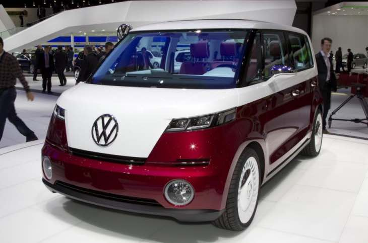 Volkswagen's Electric Microbus at CES