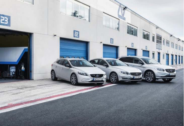 Volvo 60 Series performance parts from Polestar