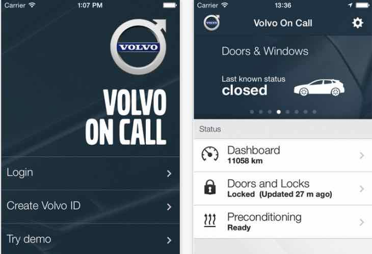Volvo On Call June app update